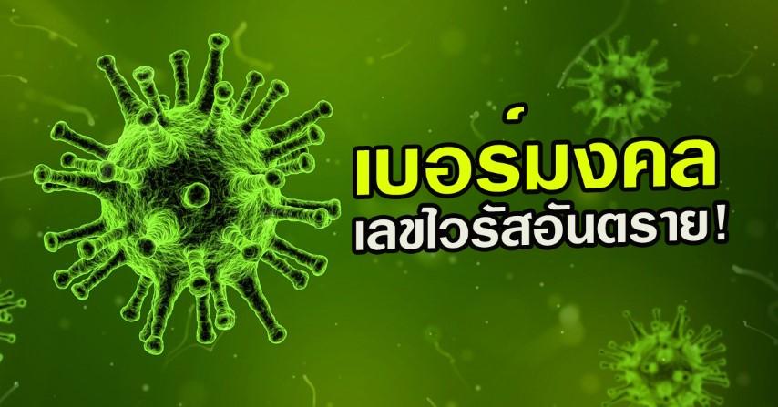 เบอร์มงคล เลขไวรัสอันตราย!